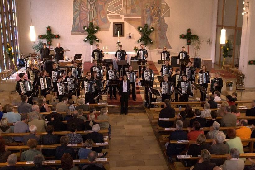 Konzert in der Kirche 2008